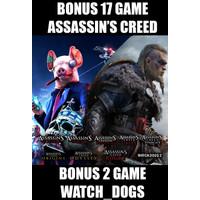 Assassins Creed Valhalla Watch Dogs Legion SHR ACC
