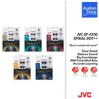 Eartips JVC SPIRAL DOT++[MADE IN JAPAN][HARGA PER PAIR][JDM][NEW][ORI]