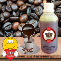 ORIGINAL Bibit parfum aroma BLACK COFFEE Murni No Alcohol 500ml