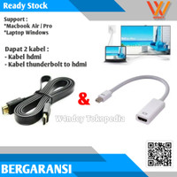 Kabel Thunderbolt TO HDMI 1.8 METER MACBOOK PRO AIR 1.5m COnverter