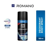 Romano Deodorant Body Spray Fine Fragrance Force 150 Ml