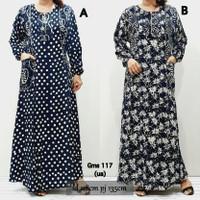 Gms 117 - gamis batik jumbo XXL daster baju tidur wanita