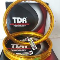 VELG TDR 160X185 GOLD RING 17 W SHAPE