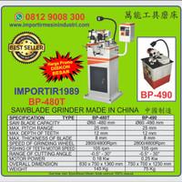 Mesin Asah Gergaji Pita Logam Besi Sawblade Grinder Machine BP490