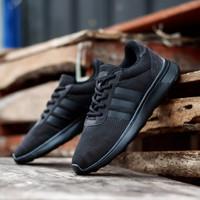 Sepatu Running Pria Adidas Original Cloudfoam Speed Full Black