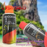 Isi Ulang Refill Korek Api Pemantik Pematik Kompor Gas HI-COOK 80gr