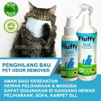 Spray Penghilang Bau Pesing Untuk Kandang dan Litter Box Pasir Kucing