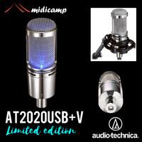 Mic USB Podcast Audio Technica AT2020USB+ V AT2020 AT2020USB+V
