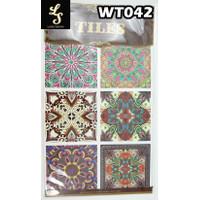 WT42 Wallpaper Tiles Sticker / Sticker Tegel