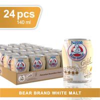 TERMURAH Bear Brand Gold Malt Putih 24 x 140 ml (Susu Beruang)