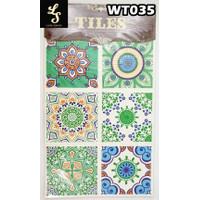 WT35 Wallpaper Tiles Sticker / Sticker Tegel