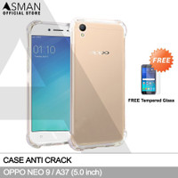 Anti Crack OPPO Neo 9 / A37 (5.0) | Softcase Anti Bentur + FREE TG