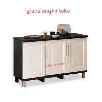 kitchen set 3 pintu bawah/Lemari Dapur 3 pintu bawah/KBT mutiara