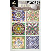 WT37 Wallpaper Tiles Sticker / Sticker Tegel