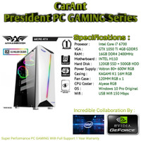 PC Gaming | Intel Core i7-6700 | GTX 1050 Ti 4GB DDR5 I 16GB RAM | SSD