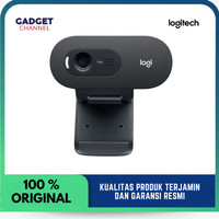 Logitech Webcam C505 HD 720p Wide Screen - Original - Garansi 2 Tahun