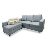Silk&Cloud Jester L seat sofa - Dark Grey