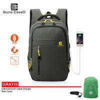 Light Gravity WaterProof Tas Ransel Bruno Cavalli 4853 - Top Seller