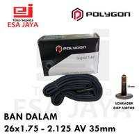 Ban Dalam 26 x 1.75 - 2.125 AV 35mm Polygon 1.95 2.00 MTB Tube Sepeda