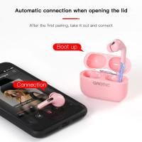 Headset Bluetooth Wireless airpods Earphone TWS Bisa GPS Rename Earbud
