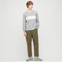 UNIQLO Celana Jersey Relax Ankle Loungewear Pria