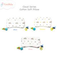 Bantal Bayi Memory Foam + Pillow Case|Bantal Anti Peyang |Cloud Series
