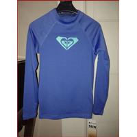 Baju Renang Rash Vest Anak Perempuan Roxy - Blue