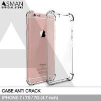 Anti Crack iPhone 7 / 7s (4.7) | Softcase Anti Bentur - Clear