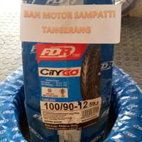 Ban Motor FDR City Go Uk. 100/90 Ring 12 Tubeless