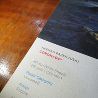Kertas A3+ Paperina Coronado White Stipple 216 gsm 1Pack20LBR