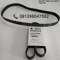 fan belt V-Belt van bel Nissan march Datsun Go 7pk 1165 original 1pc
