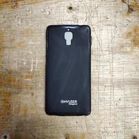 Silikon karet hitam soft case capdase xiaomi mi 4 mi4 murah meriah