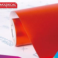 Maxdecal MT07 Orange Matt Chrome Roll 50cm Skotlet Motor