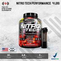 Muscletech Nitrotech 5 Lbs BPOM AOM Whey Protein