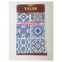 WT49 Wallpaper Tiles Sticker / Sticker Tegel