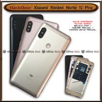 BackDoor Tutup Casing Belakang HP Xiaomi Redmi Note 5 Pro Cover