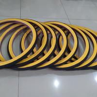 Ban Luar Swallow Deli Tire 20 x 1 3/8 -451 Hitam Kuning