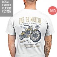 Kaos T-Shirt Royal Enfield Motor Custom Bikers UK caferacer racing