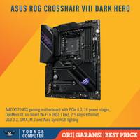 ASUS ROG CROSSHAIR VIII DARK HERO WIFI AM4 X570 MOTHERBOARD AMD