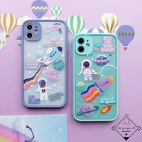 Astronaut Case Hybrid Iphone 6 6s Plus 7 8 SE X XS XR 11 PRO MAX cute