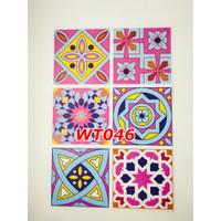 WT46 Wallpaper Tiles Sticker / Sticker Tegel