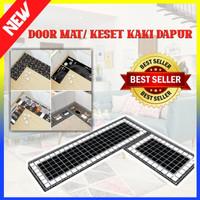 Door Mat Trendy SET Keset Rumah Kaki Dapur Pintu Anti Selip - 100313