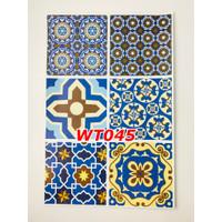 WT45 Wallpaper Tiles Sticker / Sticker Tegel