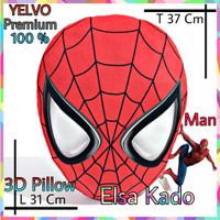 Bantal Tidur Bantal Mobil Sofa Boneka Spiderman Yelvo 100% Premium