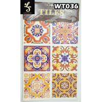 WT36 Wallpaper Tiles Sticker / Sticker Tegel
