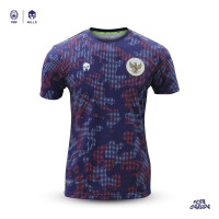 Jersey Timnas Indonesia Pre-Match MILLS Purple