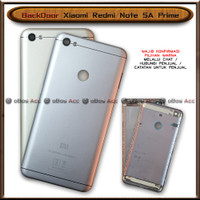 BackDoor Tutup Casing Belakang HP Xiaomi Redmi Note 5A Prime Cover