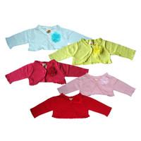 PLEU Cardigan Rajut Bunga - Jaket Sweater Anak Bayi Perempuan