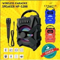 Speaker Bluetooth + Mic Karaoke HF S288 Spk Wirelles Portable MURAH!!.