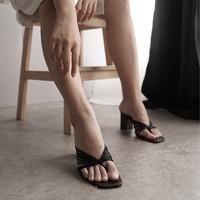 WATT Sepatu Heels Wanita Trivia Black - 39